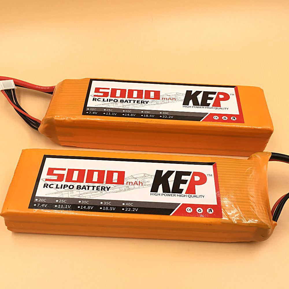 KEP RC 6S LiPo Battery 22.2v 5000mAh 40C 6S RC Li-Poly Battery For RC Aircraft Helicopters Quadcopter Boats Cars 6S AKKU 1s 2s 3s 4s 5s 6s 7s 8s lipo battery balance connector for rc model battery esc