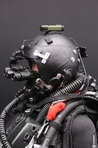Image 4 - 1/6 US NAVY Seal Halo UDT sauteur costume figurines daction parachutistes grenouille 12 pouces soldat corps Figurine ensemble entier modèle poupée