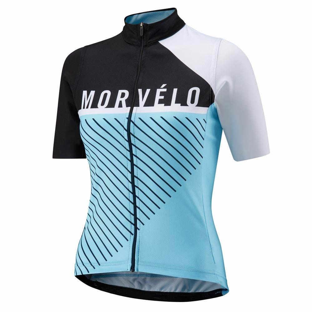 Morvelo נשים בנות הקיץ כביש MTB אופני אופניים רכיבה על אופניים ג 'רזי שרוול קצר ספורט רחוב חולצת בגדי ciclismo Ropa