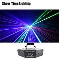 Быстрая доставка RGB лазерных линий изображения луч сканирует DMX DJ танцевальный бар кофе Рождественская домашняя дискотека эффект осветител...