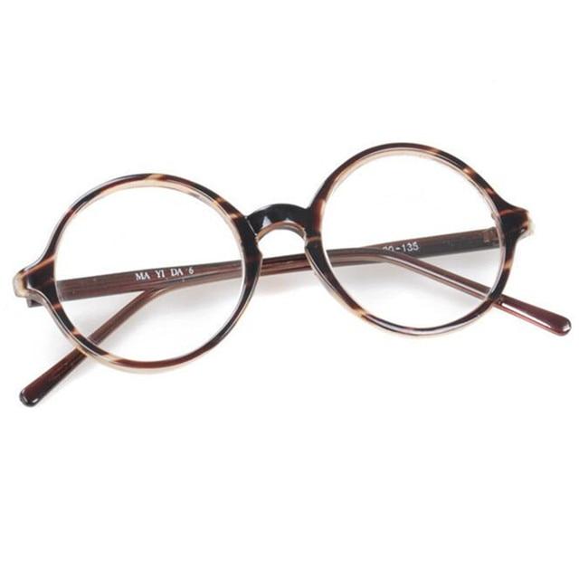 b7d69b2a4a Oversize 54mm Vintage Round Eyeglasses Frames Full Rim Men Women Retro  Glasses Eyewear myopia Rx able