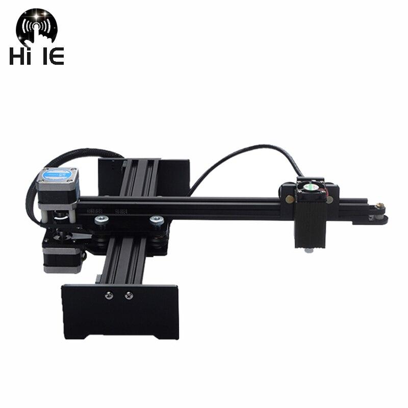 Mini cortador de grabado láser CNC de escritorio, enrutador profesional de Cortadora De Madera de grabado, bricolaje, 1000-20000mW