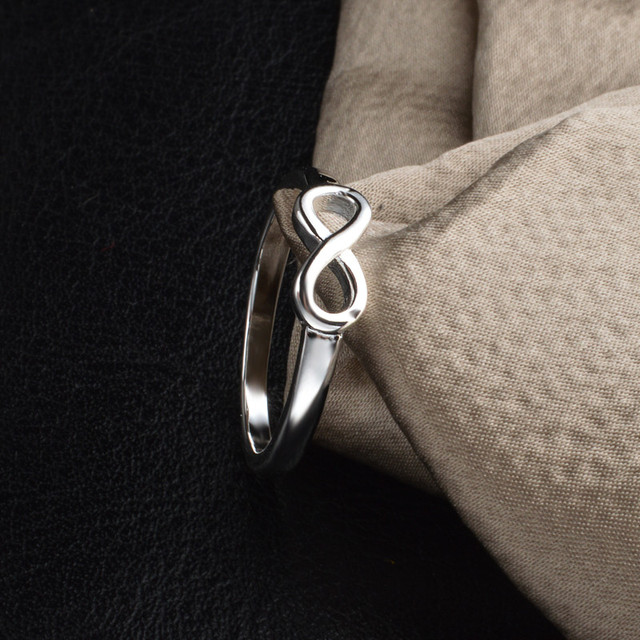 JEXXI Top Quality 925 Sterling Silver Wedding Ring For Women Simple Engagement Anillos Party/Ceremony Gift Excellent Anel Gift