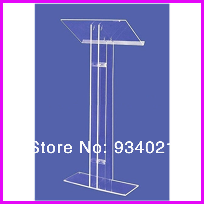 Manufacturing Customized Acrylic Lectern Acrylic Podiums Church Pulpit