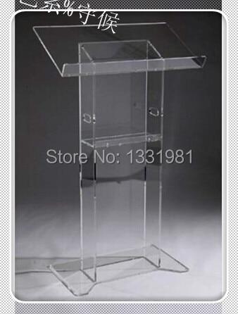 Church Acrylic Podium/Custom Transparent Acrylic Church Lectern / Pulpit / Lectern Hot Selling Church Lectern
