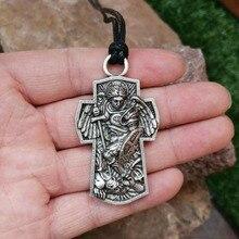 Archangel, кулон с защитой от Майкла и Святого майлика, массивное ожерелье с защитой от молитвы