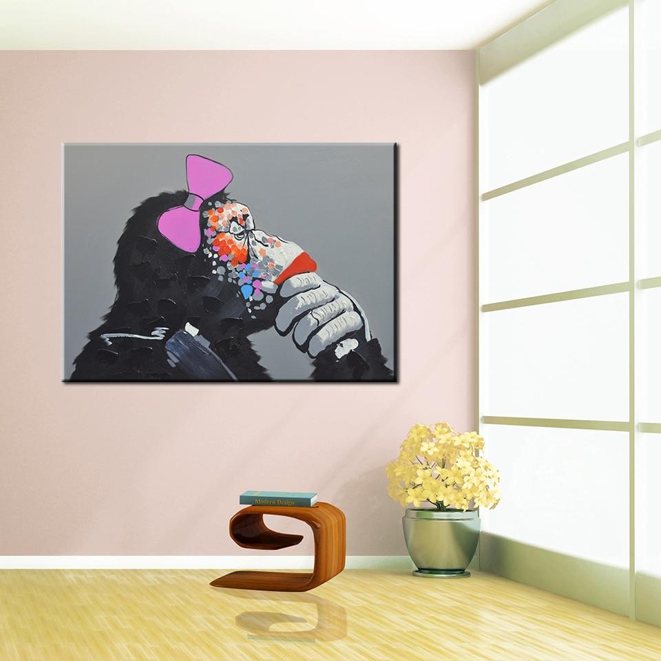 Танымал заманауи майлы кескіндеме - Үйдің декоры - фото 3