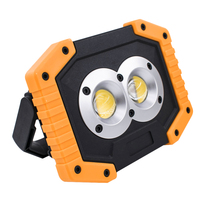 one pair work light LED Camping Lamp USB Rechargeable LED COB Work Light Waterproof Outdoor Emergency Lamp LED COB Work light