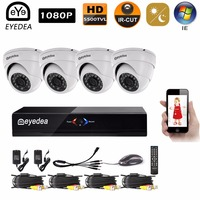 Eyedea 8 CH HDMI DVR Recorder 1080P 2 0MP 5500TVL CMOS 30M IR 36 LED Night