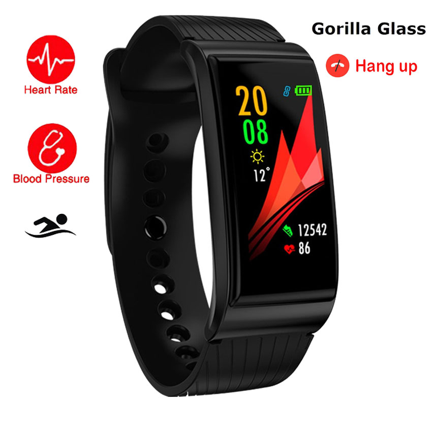 Swim Gorilla Bluetooth Smart Watch Bracelet HR/BP/O2 Health Montre Connect PK For Apple/Pebbles/Sony/G3 Smartwatch APP GPS Run