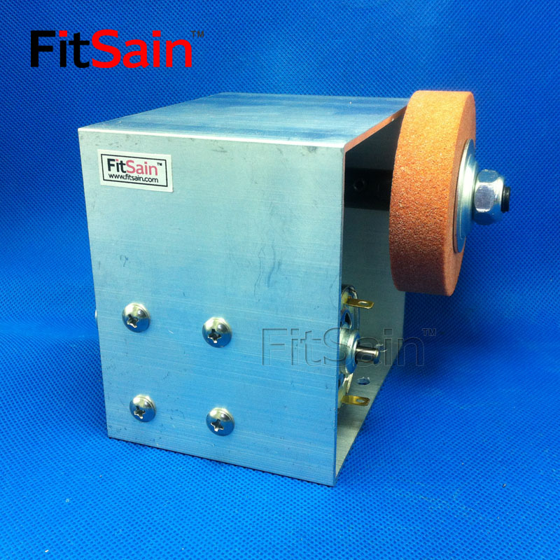 FitSain-DC24V 8000 tr/min 70x18mm meule meulage machine de polissage Mini Machine de polissage meulage