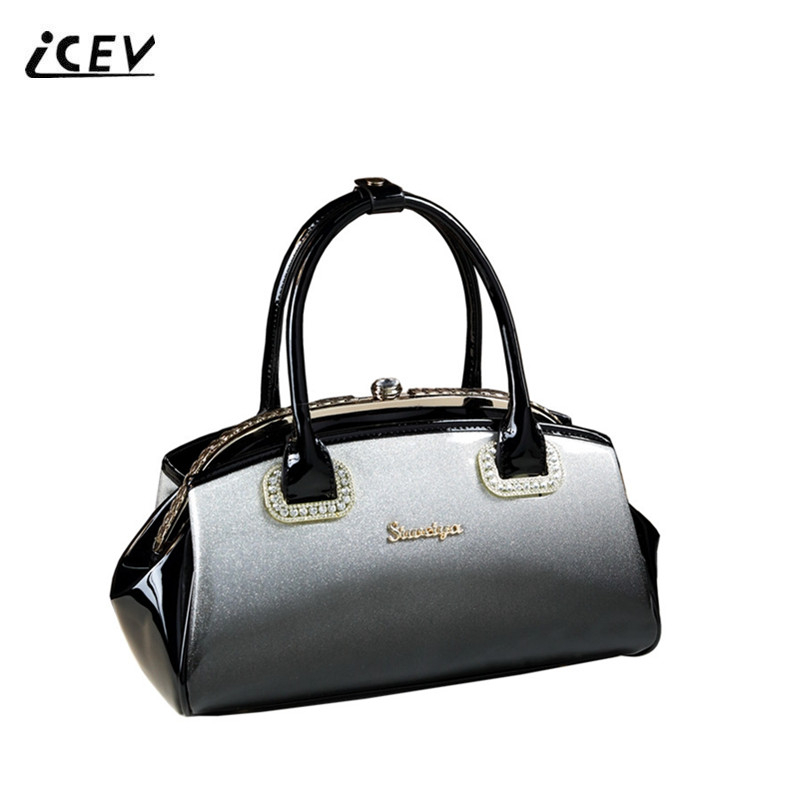 80da126849 New Fashion Flower Women Leather Handbags Luxury Handbag Women Bags Designer  High Quality Handbags Ladies Office Totes Bolsa Sac-in Top-Handle Bags from  ...