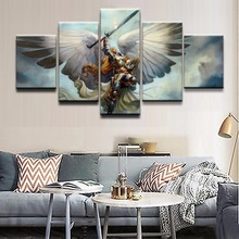 Magic Gathering Game 5 Piece HD Print Painting Decorative Canvas Wall Art Picture Home Living Room Modern