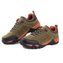 2017 New Fashion Women Men Casual Shoes Comfortable Shoes Waterproof Nubuck Trekking Shoes Use for Climbing Mountain