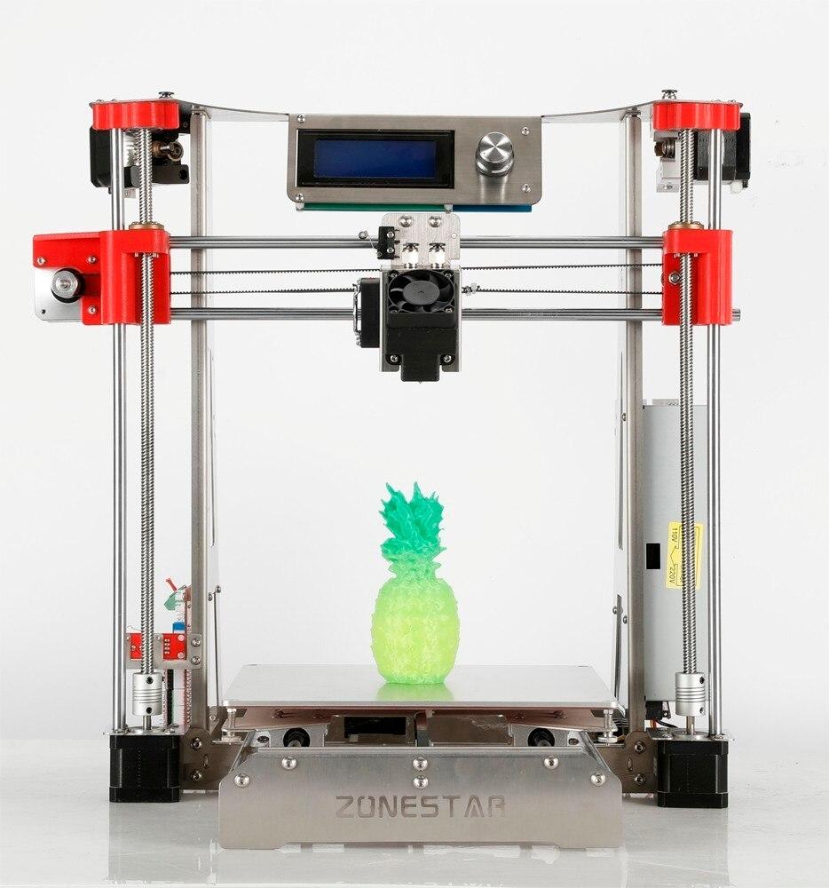 Offre spéciale extrudeuse double structure en acier inoxydable Open Source En Option Automatique Niveau Laser Gravure Pas Cher 3D Imprimante kit de bricolage Bateau Libre