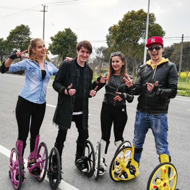2019 New Unique Roller Skates Big Inflatable Wheels Inline Skating Shoes Adult Size 37-45 Freeline Skateboard Grass Rock Chariot