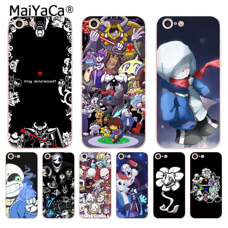 MaiYaCa undertale papyrus sans doggo lovely soft tpu Phone Accessories Case for