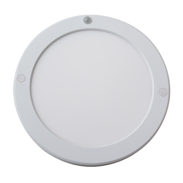 18W PIR Motion Sensor Round LED Panel Light With Driver Built Inside