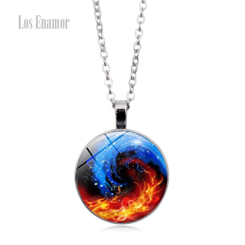 Well-Educated Los Enamor 2019 New Design Taiji Yin Yang High Quality Cheap Chains Pendant Choker Necklaces & Pendants Dragon And Tiger Factory Direct Selling Price Chain Necklaces