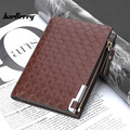 2017 NEW Baellerry Fashion Carteira Masculina Credit Card Holder Portfel Id Card Holder Portomonee Porta Carte Di Credito Cuzdan