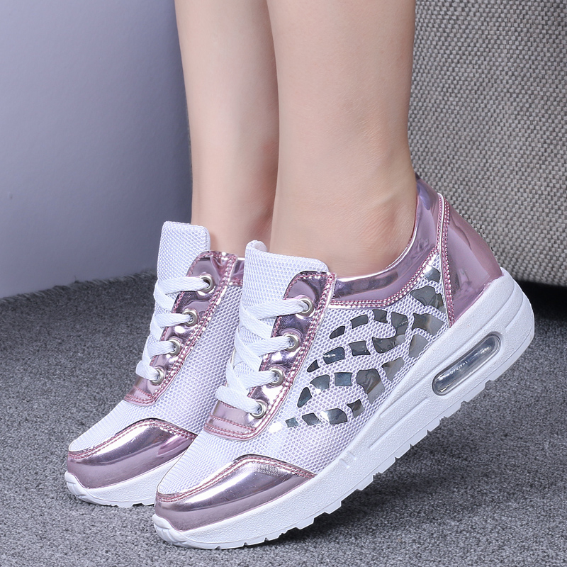 Trainers Women Casual Shoes Summer Style Outdoor Breathable Low Top Shoes Woman Flat Heels Sport Ladies Shoes Size 35-40 ZD71 (13)