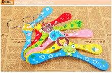 Sainwin 5pcs/lot 20cm Children Pearl Hanger Fashion Dog Hangers For Clothes  Baby Pearl Plastic Pet Hangers