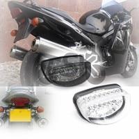 For HONDA CBR1100XX HORNET 250 1997 1998 HORNET 600 1998 2003 Motorcycle LED Rear Turn Signal Tail Stop Light Lamps Integrated