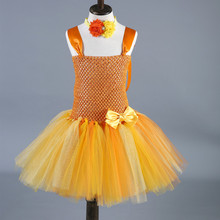 Toddler Baby Girls Tutu Dress Kids Party Birthday Easter Dress Tulle Princess Ball Gown Halloween Costume