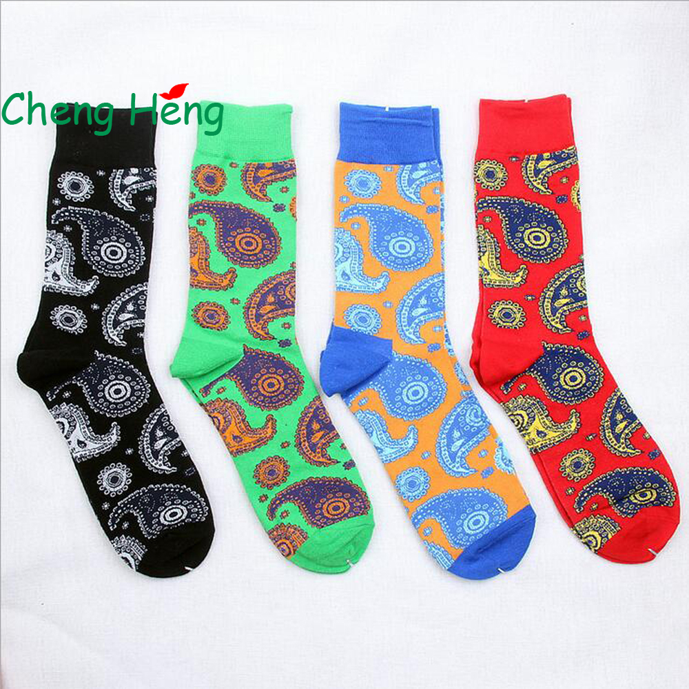 Underwear & Sleepwears Forceful Cheng Heng 1 Pair New Style Hot Mens Cotton Socks Fashion Mens National Wind Vintage Long Tube Socks Cotton Size 41-46