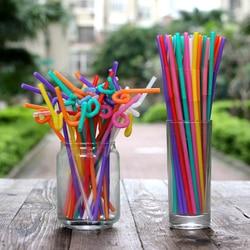 5000 pcs individual packing household coffee orange juice straw orange juicer spare parts for milk tea drinking shop