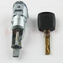 Auto lewy przedni cylinder zamka drzwi dla Skoda Octavia superb Centrol cylinder zamka