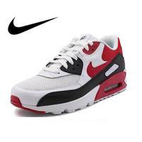Original Authentic NIKE AIR MAX 90 Men's Running Shoes Classic Outdoor Sports Shoes Comfortable Mesh Breathable 537384 129