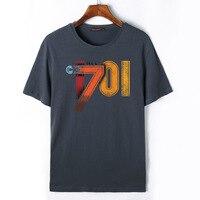 Flevans Star Trek Printed T Shirts Men Summer Short Sleeve O Neck Cotton Men S T