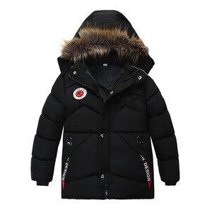 Image 4 - ฤดูหนาว Warm หนาขนสัตว์คอยาวเด็กเสื้อเด็ก Outerwear Windproof ขนแกะเด็กแจ็คเก็ตสำหรับ 100 120 ซม.