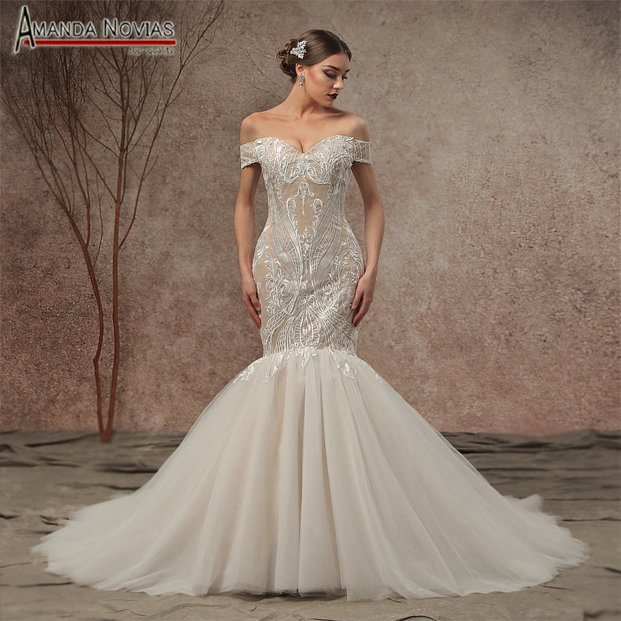 Best Time To Buy Wedding Dress: Aliexpress.com : Buy 2019 New Mermaid Champagne Wedding