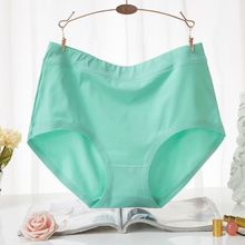 2017 New Arrival Briefs Women Underwears plus size 6XL Cotton Mid Waist Women's Panties