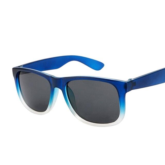 Venda quente Gradiente Quadro Quadrado Óculos De Sol Dos Homens Da Marca  Designer de Moda Óculos 647a90e348