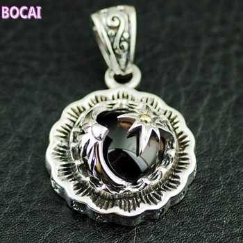 Thailand imports, Indian style sun and Eagle 925 Sterling  Silver Pendant