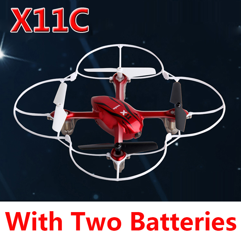 (With two batteries) Original Syma X11C 2.4G 6 Axis GYRO RC Quadcopter with 2.0MP Camera Free Shipping