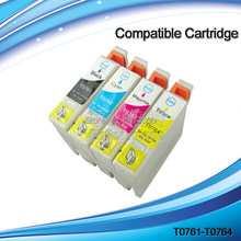 XIMO 5 sets of T0761-T0764 Compatible inkjet cartridge T0761 T0762 T0763 T0764 for Stylus ME200 ME2 CX2800 C58(China)