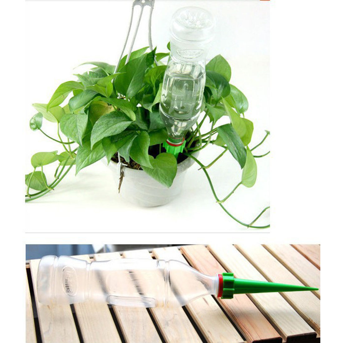 Automatic watering system for potted plants - 4pcs Automatic Plant Waterer Accessories Water Seepage Device For Potted Plant Outdoor Or Indoor Use