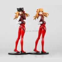 23 cm Anime Evangelion EVA Soryu Asuka Langley Acción PVC Figure Collection Modelo de Juguete