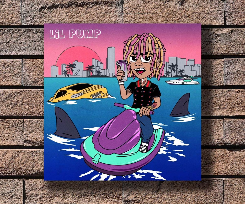 Y656 Post Malone August 26th Music Rapper Album Hot Fabric Poster 16x16 24x24