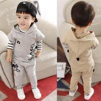 Anlencool 2017 New Autumn Male Child Baby Mouse And Long Sleeved Suit 1 3 Years Old