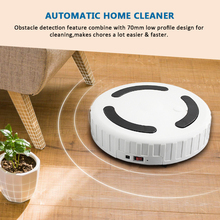 Intelligent Scrubber Robot Solves Dust Hair – Powerful Auto Vacuum Cleaner