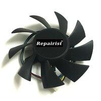 T128015SU 0.5A 4 провода 4Pin компьютер радиатор графическая карта кулер для MSI R4770 HD4770 Радиатор VGA охлаждения