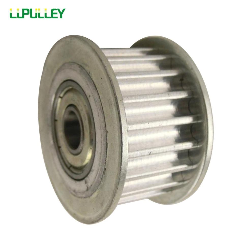 L-12T Idler Timing Pulley Wheel Bearing Bore 5//6//7//8//10mm for Reprap 3D Printer