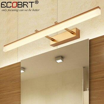 욕실에 현대 새로운 실내 led 벽 램프 9 w 12 와트 조정 가능한 빔 각도 홈 실내 led 미러 조명 ac 220 v
