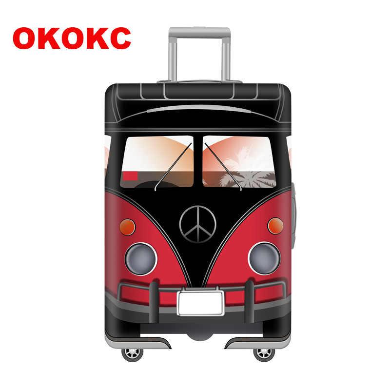 OKOKC funda protectora de equipaje con sello elástico para maleta de 19-32 pulgadas con ruedas más gruesa y bolsa protectora de polvo accesorios de viaje