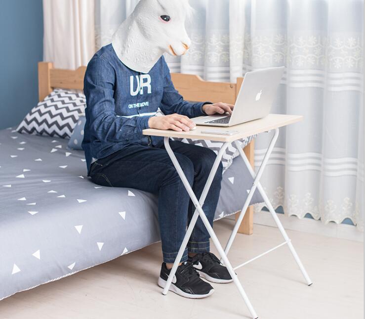 Portable Computer Desk Modern Laptop Desk Reading Desk Simple Corner Table For Living Room Bedroom